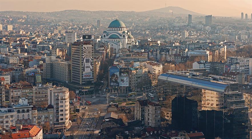 Belgrade city centre