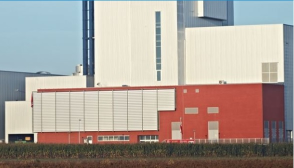 The two companies have cooperated on a biomass-fired plant before