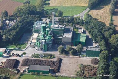 The EfW plant, image copyright In BW