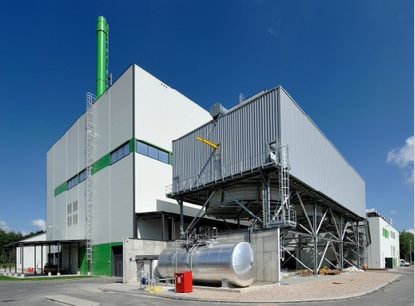 The now complete EfW plant