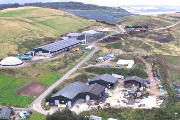 The EfW plant will be built at Binn's site