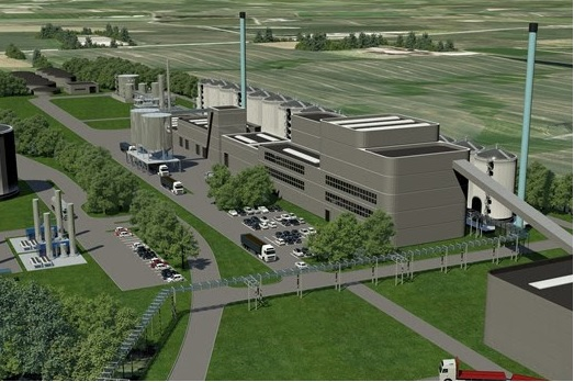 An artist's impression of the planned facility