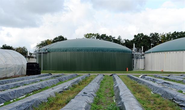 A biogas plant