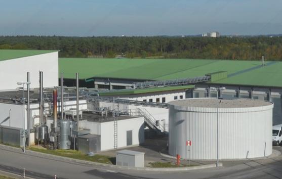 Bekon's Munich-based biowaste processing pilot plant