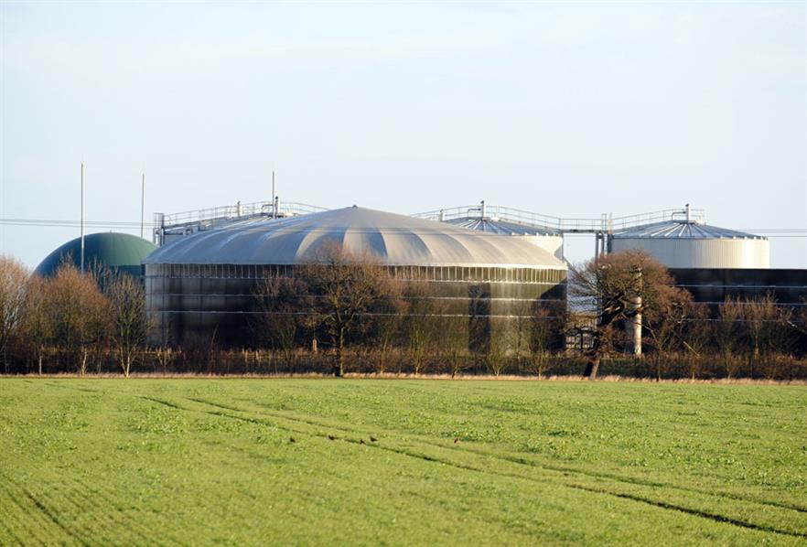 The Westwood AD plant in Northamptonshire Copyright Biogen 2014