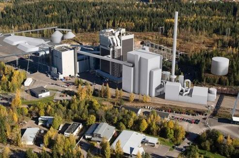 An artist's impression of Lahti Energia's Kymijärvi III