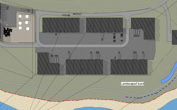 Planning documents show how the plant will look