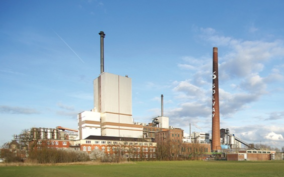 Solvey's site for the biomass plant
