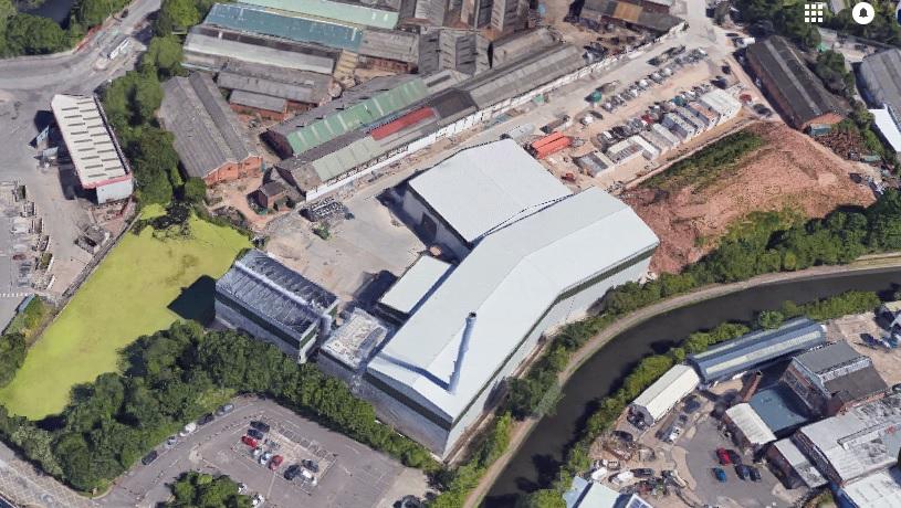 The Birmingham plant, image google.co.uk