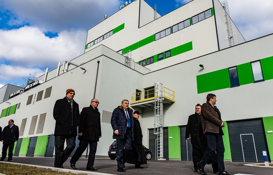 The Bydgoszcz EfW plant was delivered by the company
