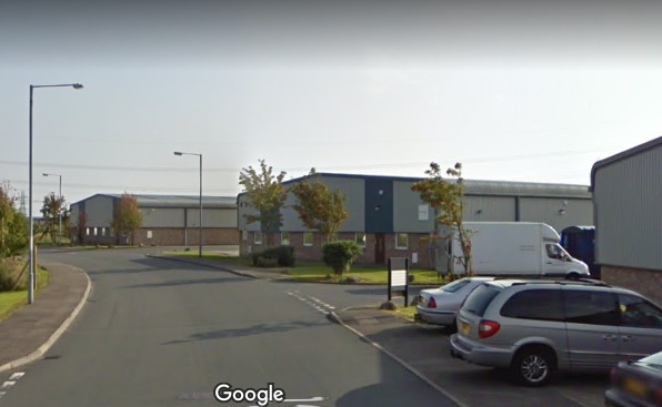 The industrial site was the planned home of the EfW, photo google.co,uk