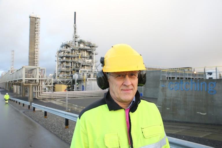 Aker's head of carbon capture, utilisation and storage, Oscar Graff