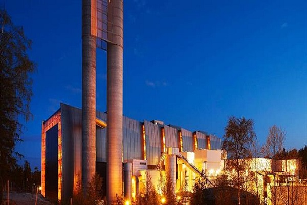 The EfW plant at the centre of the CCS project