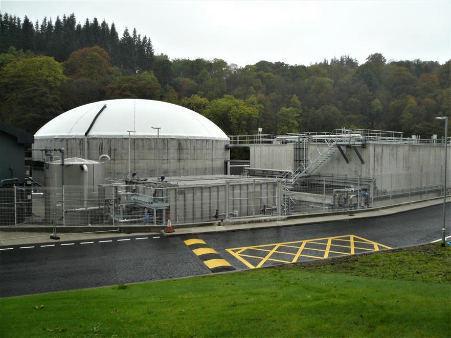 A Clearfleau built biogas plant