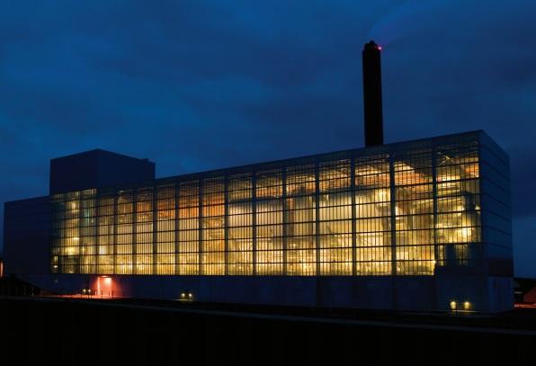 The Ydernæs Næstved incineration plant