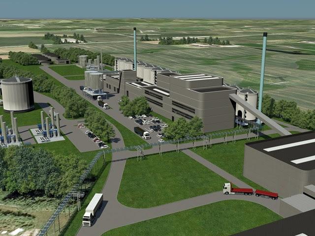 Maabjerg Energy Center's under-development 2G bioethanol plant