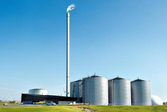 Denmark's Maabjerg BioEnergy plant