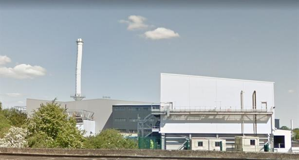 The Derby-based EfW plant, image copyright google.co.uk
