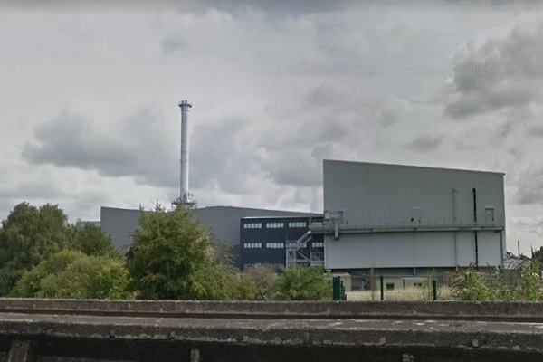 "The ""mothballed"" Derby-based waste gasfication plant"