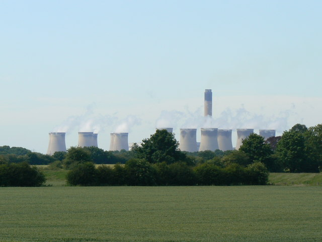 The Drax plant in northern England