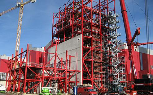 HVC's wood-fired plant