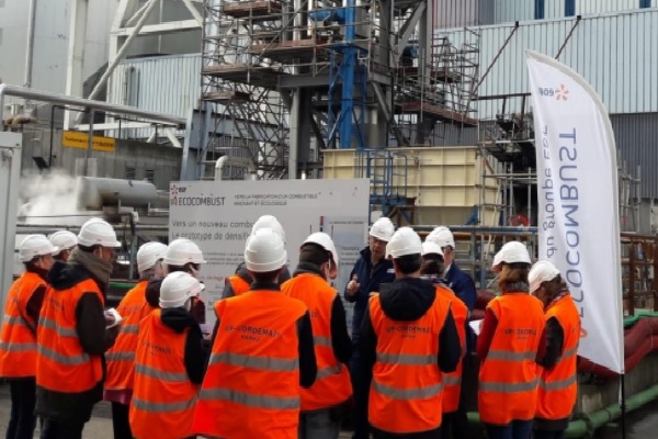 EDF show off the project earlier this year