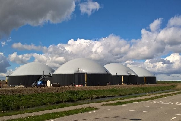The biogas plants