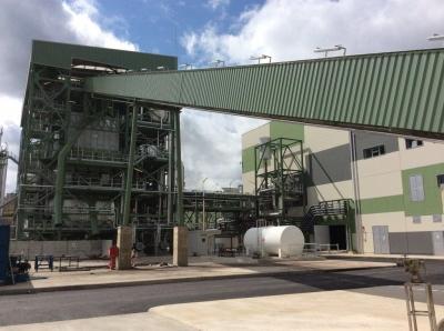 The 20MW Mérida biomass plant