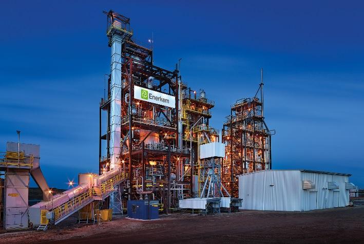 Enerkem's Canada-based waste-to-biofuel plant