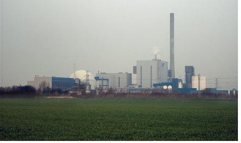 The facility is next to the only Dutch nuclear power plant, which was unaffected by the explosions