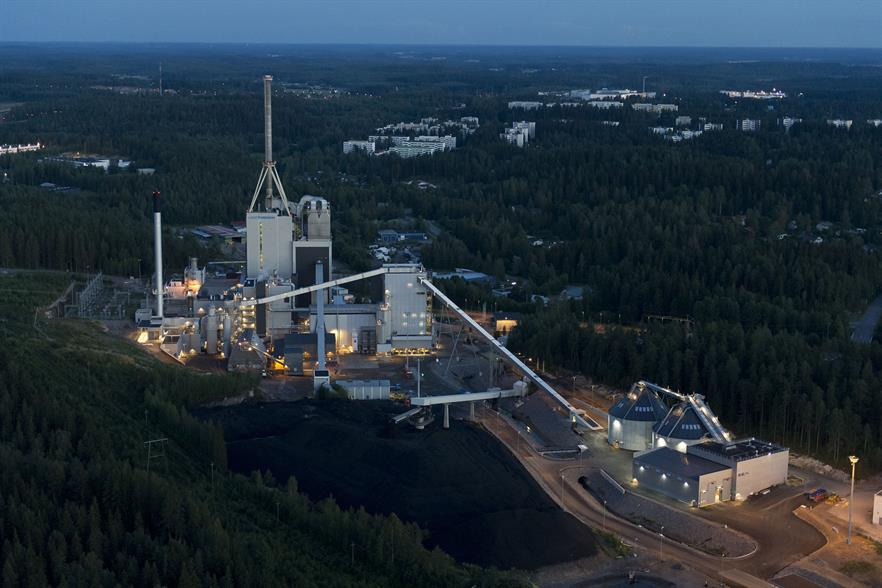 The Kymijärvi II prototype energy-from-waste gasification plant
