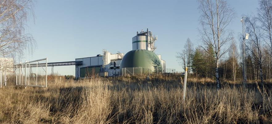 Another biogas plant developed by Gasum
