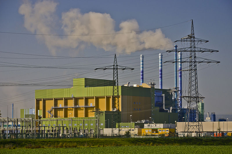 The Höchst plant, one of the largest incinerators in Germany