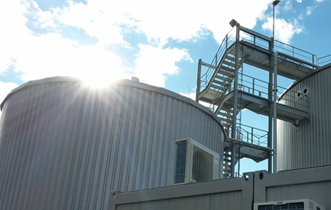 BDI built a biogas plant for the Göss Brewery last year