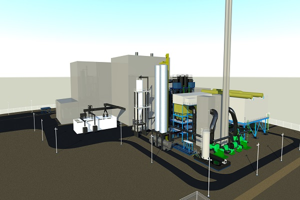 An artist's impression of the Hooton EfW plant, which BWSC is building