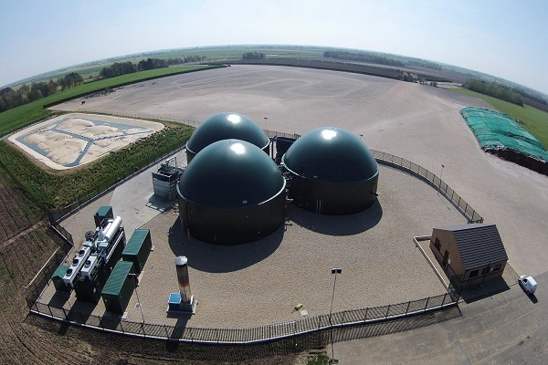 Another UK-based biogas plant built by Host
