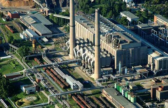 Dalkia Hungary's biomass-fired cogeneration plant