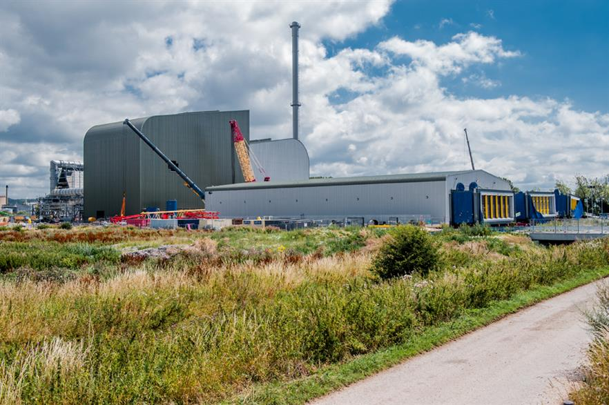 The Ince Bio Power plant