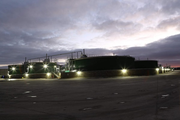 The Leeming biogas plant