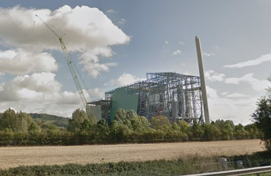 The plant pictured in September last year, image copyright google.co.uk