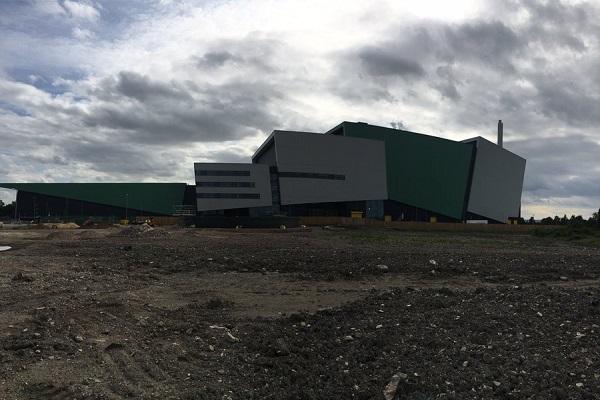 The Javelin Park EfW plant, image copyright FKGroupUK