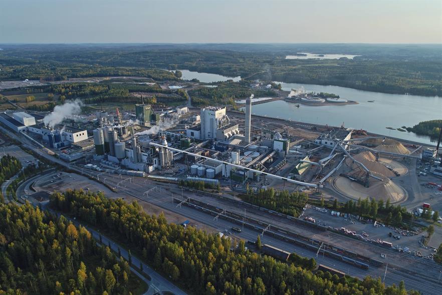 The company's Äänekoski bioproduct mill