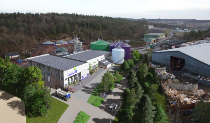 An artist's impression of the expanded 'Magic Factory' facility