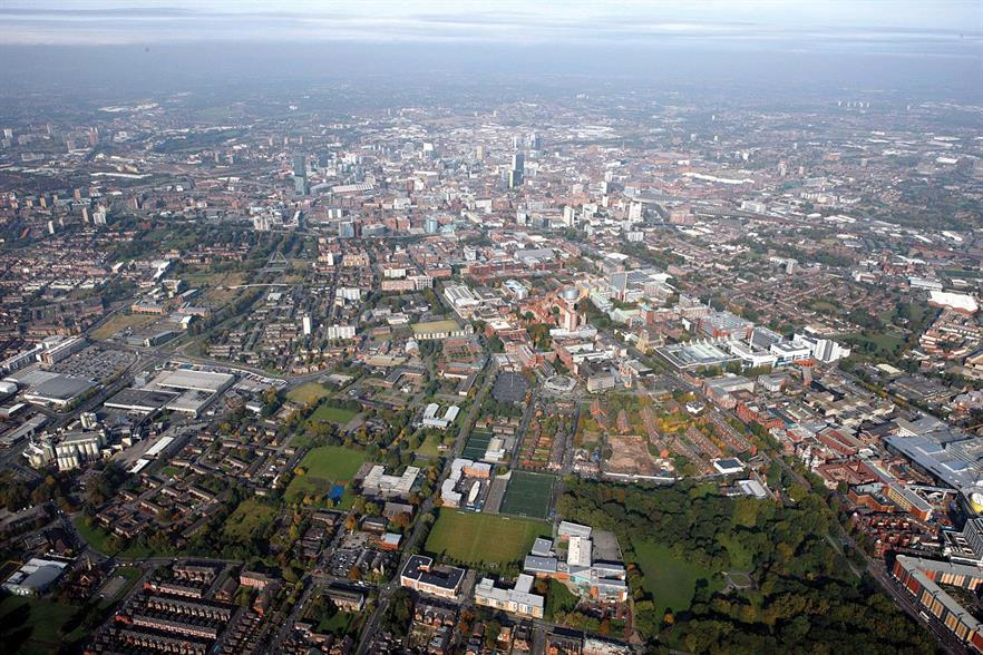 The facilities will serve the city of Manchester
