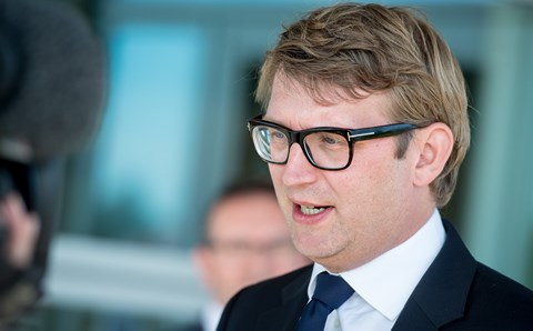 Danish business and growth minister, Troels Lund Poulsen