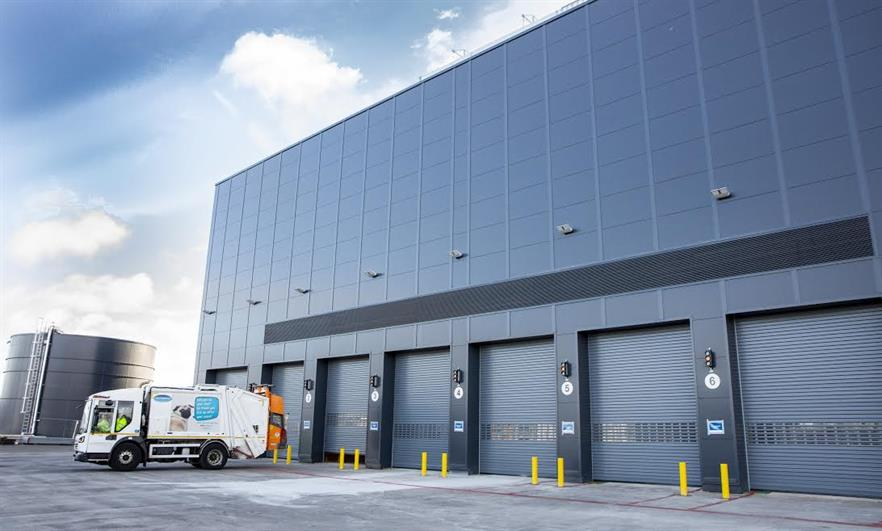 The Millerhill EfW plant has added to Scottish EfW capacity, image copyright FCC