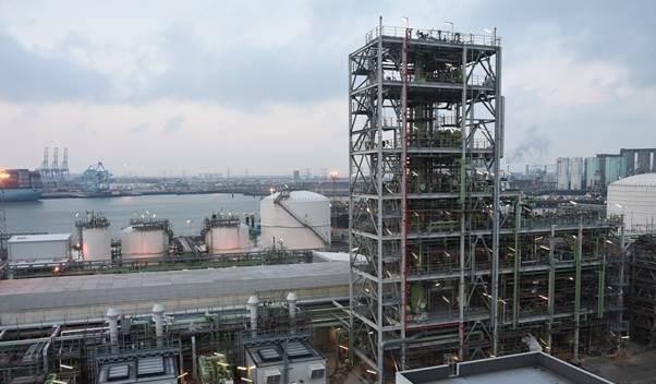 The renewable propane plant