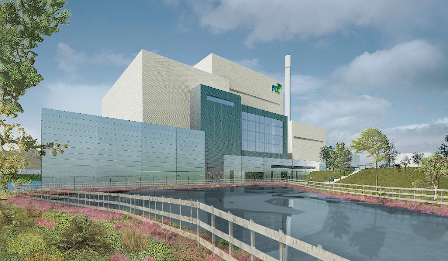 An artist's impression of the facility, copyright FCC