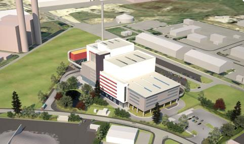 What they could have had, an artist's impression of the King's Lynn facility