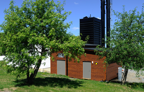 One of Enycon's heating plants